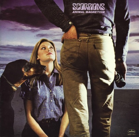 Scorpions, Animal Magnetism - Canada, front
