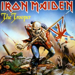 1983 - The Trooper Single