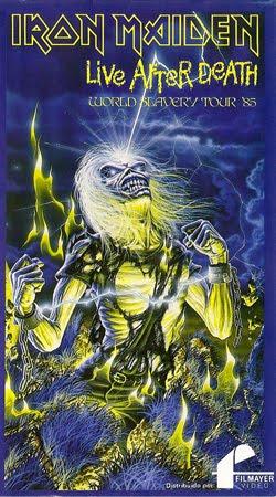 1985 - Live After Death VHS